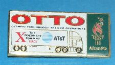 ATLANTA 1996 Olympic Collectible Sponsor Pin - OTTO Technology Trailers