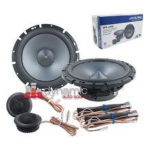 "ALPINE SPS-610C 6.5"" Car Audio Component Speakers 2-Way Type S 240W SPS610C New"