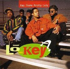 LO-KEY: HEY THERE PRETTY LADY (1992 US PROMO CD SINGLE w/ REMIXES) JAM & LEWIS