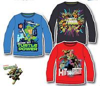 Disney Boys Characters NINJA TURTLE Cotton Long Sleeves T.Shirt Top 3,4,6,8,YRS