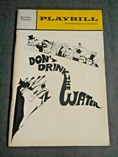 October - 1967 - The Morosco Theatre Playbill - Don't Drink the Water