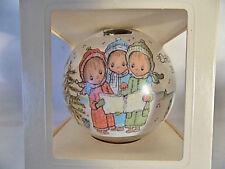 "Hallmark 1977 Betsey Clark Glass Ball Christmas Ornament 5th in Series 4"" Rare"