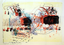 Hans Staudacher, Originalgrafik signiert