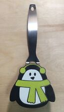 "Penguin Shaped Stainless Steel Handle 10.5"" Pancake Spatula PreownedKitchen.com"