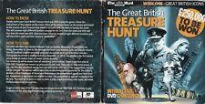 THE GREAT BRITISH TREASURE HUNT Interactive DVD Challenge ( UK Promo Double DVD)