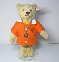 Steiff 420399 Teddy Bär Geburtstagsbär mit Kette + Beutel Club Edition 2004/2005