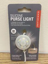 Kikkerland Silicone Purse Light Super Bright LED Keychain Accessories FL38