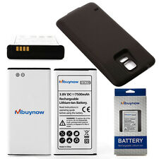 Samsung Galaxy S5 Extended Battery 7500mAh Phone Battery with Black Back Cover
