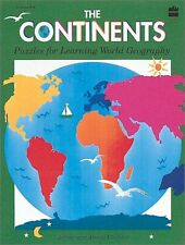 The Continents: 100 puzzles and word games for gra
