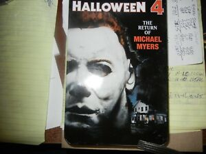 RARE Halloween 4: The Return of Michael Myers DVD, 2001, Limited Edition Tin HTF