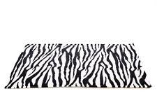 IMPERMEABILE cavia e piccoli animali gabbia in Pile Fodera Zebra, dimensioni 80x44cm