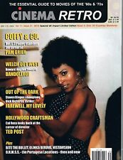 Cinema Retro Vol 11 #31 2015 Coffy Pam Grier , Bandolero, Farewell, My Lovely