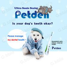 Ultrasonic Scaler Petden Pet Dog Cat Dental Health Portable Pet Supplies Safe