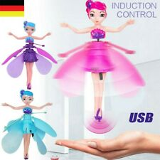 Fliegende Fee Puppe Infrarot Induktion Steuerung Spielzeug Kinder Weihnachten DE