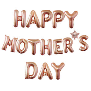 Happy Mother's Day Balloons Banner, Dad Father's day Party Decoration Supplies