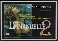 EMMANUELLE 2 Movie POSTER 30x40 Sylvia Kristel Umberto Orsini Fr d ric Lagache