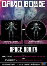 "David Bowie - Space Odditty 1990 -  New Ltd Edt 2021 7"" Purple Vinyl - In stock"