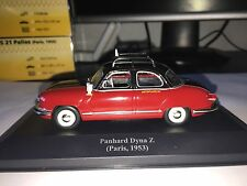 Taxi Cab - Panhard Dyna Z - Paris / France license plates