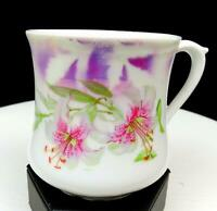 "THREE CROWN CHINA GERMANY PORCELAIN FLORAL AND LUSTER 3 1/2"" CUP 1909-1916"