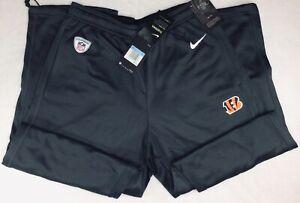 New Cincinnati Bengals NFL Nike Therma Dri Fit Training Track Pants Size Medium