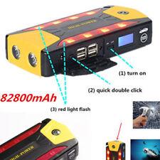 82800mAh 4USB 12V Auto Jump Starter Notfall Booster Ladegerät Batterie SOS