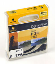DIFOX Sperrfilter FILTER UV (0) HQ DIGITAL 49mm M49 Schraubfassung (O4074