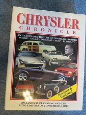 CHRYSLER CHRONICLE 416 PAGE HARDBACK BOOK BY JAMES M. FLAMMANG