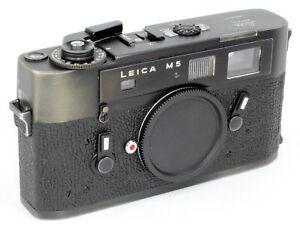 Leica M5 No.1363131 Leitz Wetzlar Germany = TOP CLEAN 100% WORKING CONDITION B !