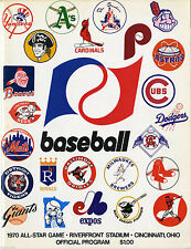 1970 ALL STAR PROGRAM 8X10 PHOTO .AWESOME GRAPHICS ON THIS CLASSIC, 8x10