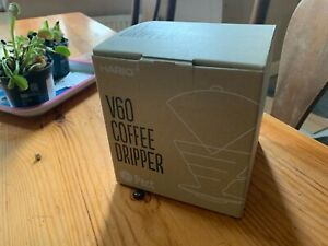 Hario V60 Coffee Dripper Kit - Turquoise - New