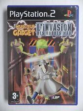 COMPLET jeu INSPECTEUR GADGET L'INVASION DES ROBOTS MAD playstation 2 PS2 juego