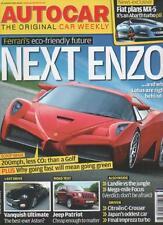 AUTOCAR MAGAZINE 15 AUGUST 2007 Ferrari's NEXT ENZO  LS