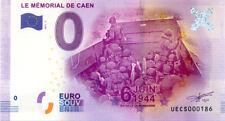 14 CAEN Mémorial 2, Barge, N° de la 2ème liasse, 2017, Billet 0 € Souvenir