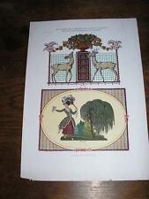 Planche du JOURNAL de la DECORATION : décorations murales  par M. SCHWARZER