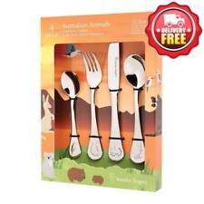 Stanley Rogers Children's Cutlery Set 4pc Australian Animals