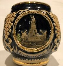 Vintage German Pottery Mug Stein Mulled Wine Beer Christmas Gluhwein Koblenz ?