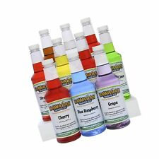Hawaiian Shaved Ice 10 Flavor Syrup Package | Pack Includes 10 Snow Cone Syru.