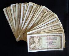 Yugoslavia 10 dinara 1965-1978-1986. - lot of 100 pcs