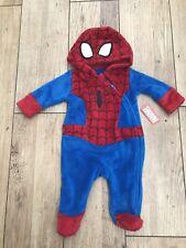 Disneyland Paris Marvel Spider-Man Fleece All In One Age 3/6 Months