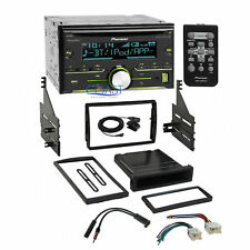 Pioneer Bluetooth Sirius Stereo 2Din Dash Kit Harness for 2005-06 Nissan Altima