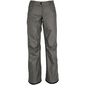 686 2019 Patron (Charcoal Melange) Women's Insulated Snowboard Pants