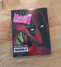 Fight Club Blu-Ray Deadpool Photobomb Walmart Exclusive Movie Cash Marvel Comics