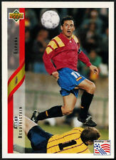 Aitor Berguiristain, Spain #156 World Cup USA '94, (Eng/Ger) Card (C385)