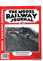 JOBLOT 9 THE MODEL RAILWAY JOURNAL MAGAZINES FROM 1991 VG=