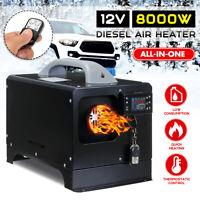 All IN One Metall 12V 8KW Diesel Luft Heizung Pkw Stellpaltz Heizung Für Rv D