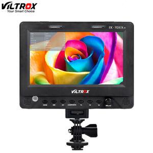 "Viltrox DC-70EX 7"" 4K HD 1024x600 HDMI/SDI/AV Camera Video LCD Monitor for DSLR"