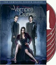The Vampire Diaries: The Complete fourth Season(2013, 5-Disc Set) Fast shipping