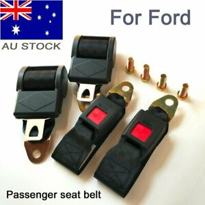 For Ford 2 Point Universal Extender Seat Belt Lap Safe Strap Retractor Seatbelt