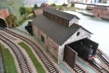Slate Engine Shed Kit- 7 Mould KIT - OO/HO Gauge Model Railway Scenery
