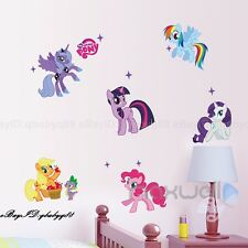 Large My Little Pony Cute Wall decals Removable sticker kids nursery Girls decor